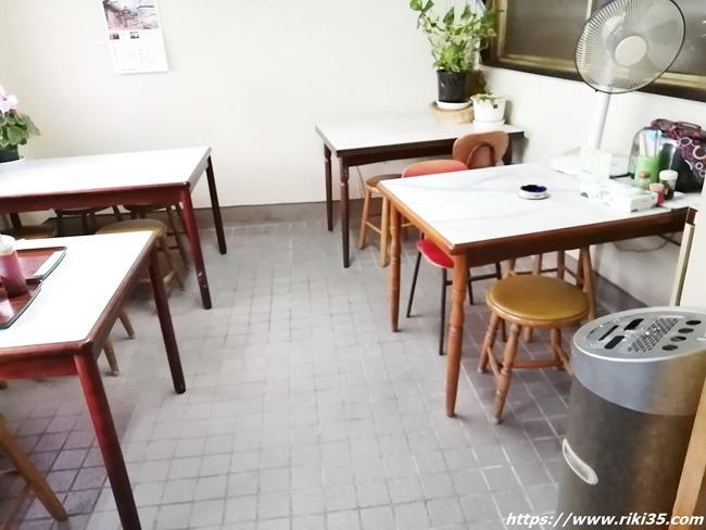 テーブル席@大福食堂