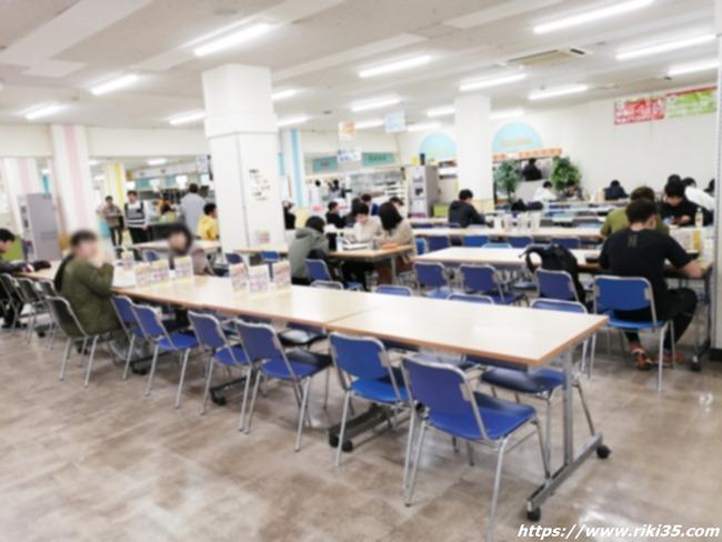 学食の雰囲気@長崎大学
