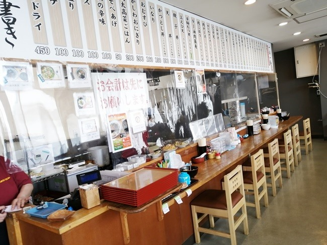 厨房@かかしうどん八幡東田店