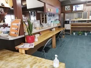 カウンター席@よっちゃん食堂