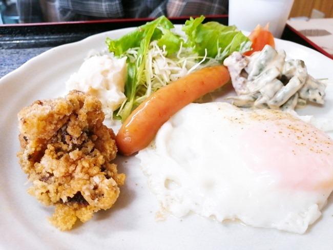 朝定食おかずアップ@よっちゃん食堂