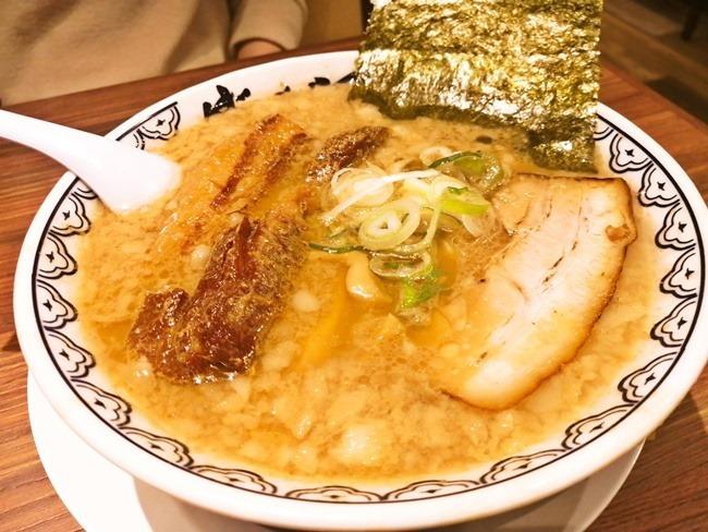角煮ばんからラーメン@旭川味噌ラーメンばんから陣原店