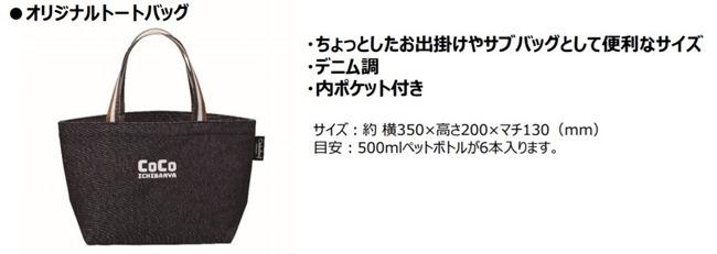オリジナルトートバック@ココイチ福袋