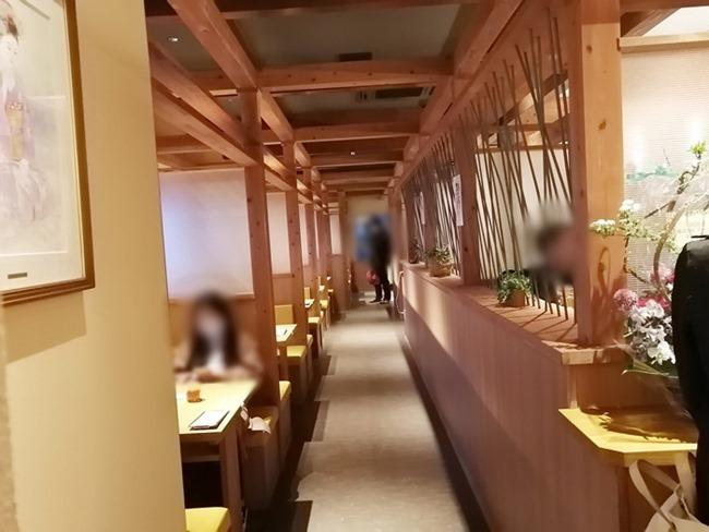 テーブル席@のぶたけ浅川店