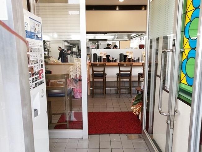 店舗入口@八幡のチャンポン平野店