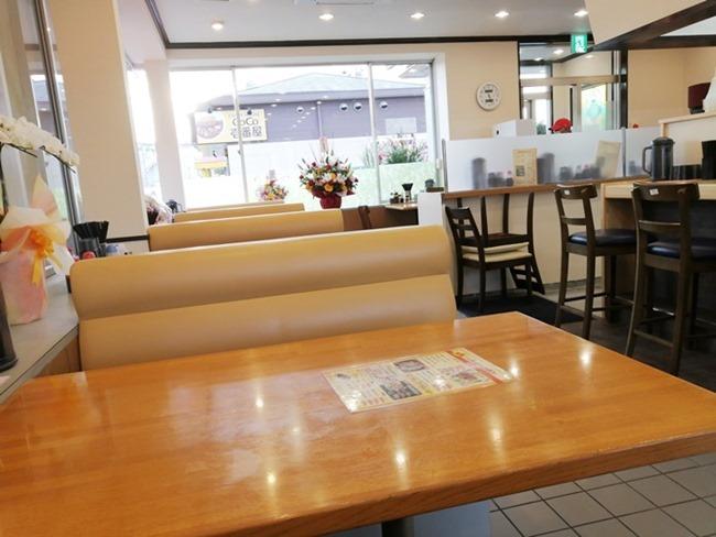 テーブル席@八幡のチャンポン平野店