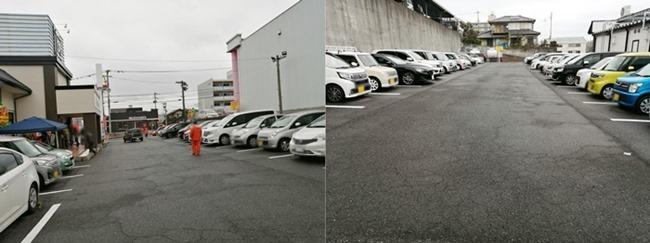 駐車場@資さんうどん明野店