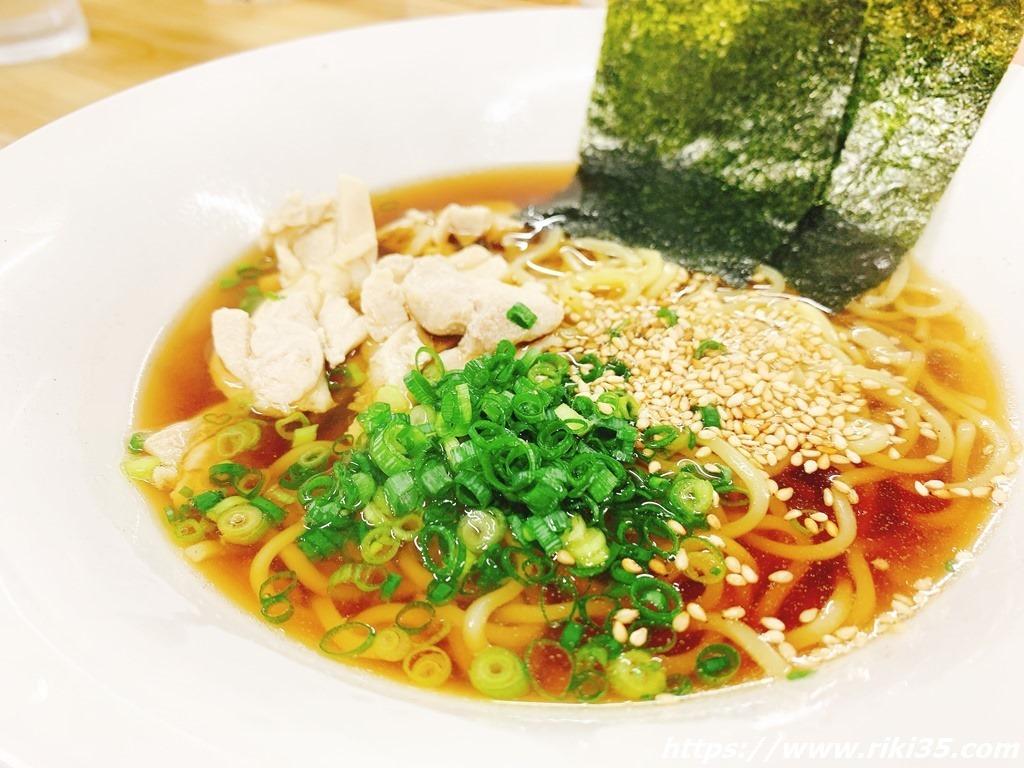 鶏しょうゆラーメン@朝麺's屋いしちゃん