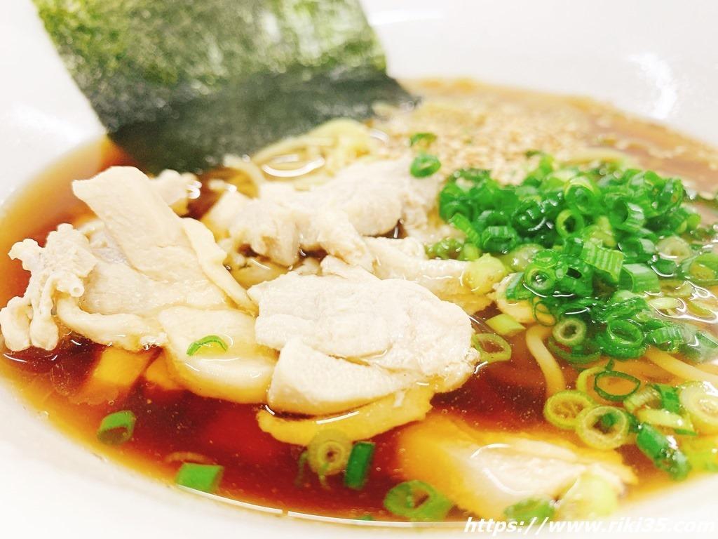 もも肉もタップリ@朝麺's屋いしちゃん