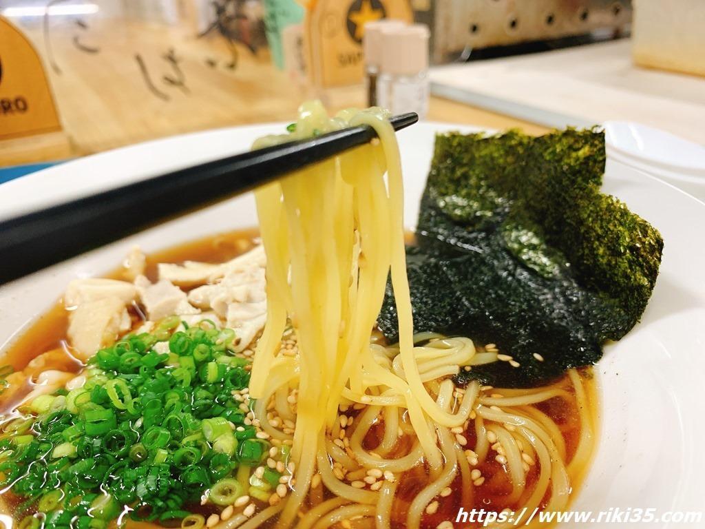 麺が旨い@朝麺'sいしちゃん