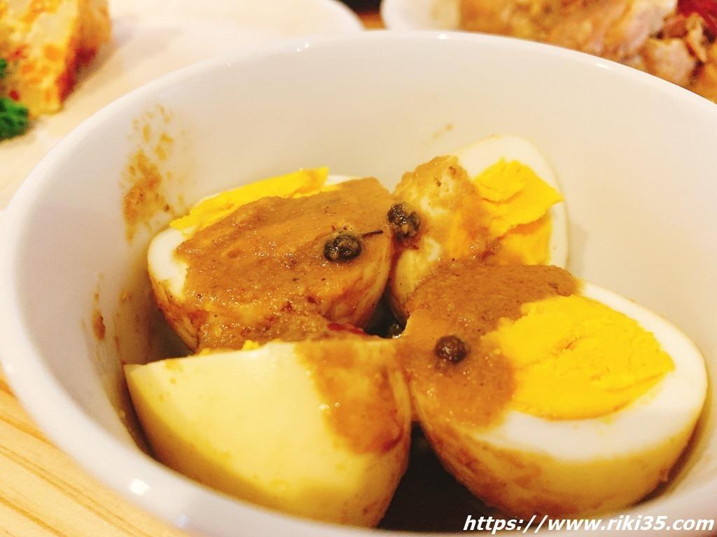 ぬか炊きタマゴ@ぬかと料理とお酒ミサヲ